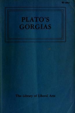 Cover of: Gorgias   Plato