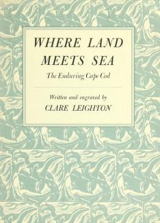 Where land meets sea by Clare Leighton
